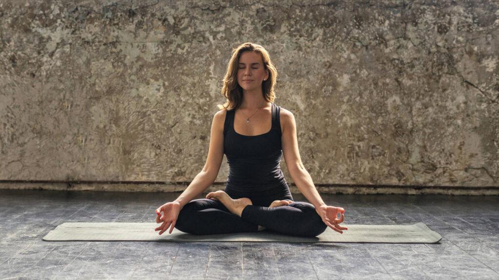 Easy Sitting / Lotus (SUKH/PADAM asana)